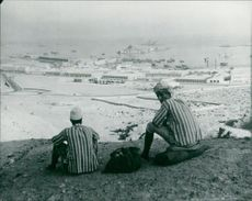 Aden: Crown colony on the Red Sea.