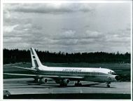 1972 A stationary airplane on the runway. The hijacking of Flight Bulltofta was a hijacking conducted by three right-wing Croats which took place from Friday 15 September until Saturday 16 September 1972 on Bulltofta airport in Malmo . The hijacking was t