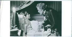 """Gwyneth Paltrow and Nick Nolte in the scene of the movie, """"Jefferson in Paris""""."""