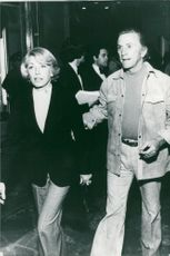 Kirk Douglas together with his wife Anne