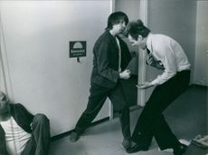 A scene from the film The Score.