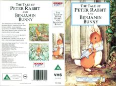 The tail of Peter Rabbit and benjamin bunny.