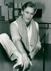 Portrait image of Jonas Kåge during his time as an active dancer.