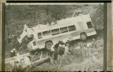 road accidents:the end of the journey.