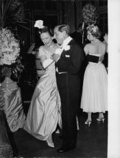 Duke and Duchess of Windsor dancing at a party.