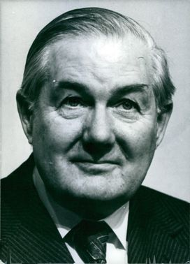 Portrait of James Callaghan.