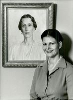 Portrait image of Queen Silvia taken in an unknown context.