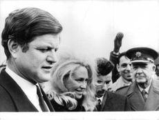 Ted Kennedy with other people.