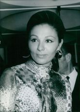 A photo of The Empress Farah Dibah - March 7, 1972