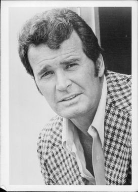 "James Garner in the TV series ""Rockford takes over"""