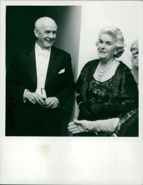Mr. Clement Davies and Lady (Andrew) McFayden.