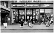 A McDonald's Restaurant in Strassbourg