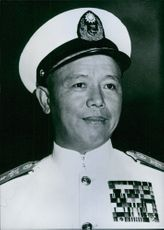 Nationalist Chinese Service Chief, Ni Yue-Si, 1964.