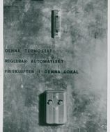 Detailed image of thermostat, Tempo, Kungsgatan