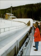 Bob and toboggan run in Hunderfossen during the Olympic Games in Lillehammer.