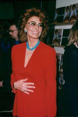 Sophia Loren is marketing her new cookbook in New York