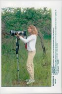 German tennis player Steffi Graf in South Africa