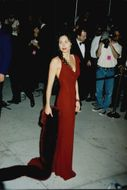 Actress Minnie Driver at the Oscars Gala in 1998