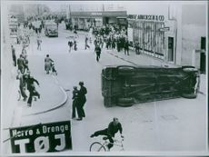 The German occupation in Denmark has caused chaos. 1944