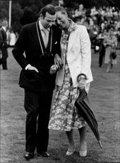 Prince and Princess Michael of Kent walk in Windsor Park