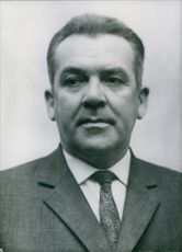 Close up of Polish politician Kazimierz Switala