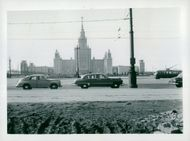 University of Moscow at Lenin Hills in 1953.