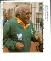 Tutu Desmond:his promise to jog