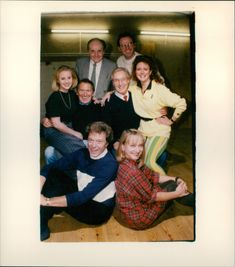 Top: Henry McGee & Peter Simon Middle: Michaela Stewart, George Sewell, Nicholas Parsons and Samantha Hughes Bottom: Lionel Blair & Diane Bull