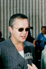Tim Robbins, actor being interviewed