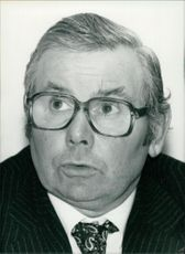 Clive Thornton in a portrait.