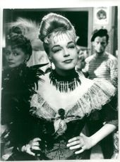 """Simone Signoret in """"Meeting under the stars"""""""