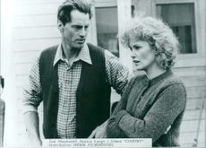 """Sam Shephard & Jessica Lange in the movie """"Country"""""""
