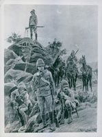 Illustration of soldiers.