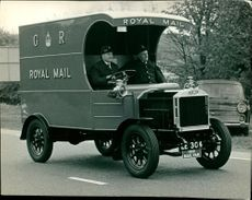 1910 Royal Mail van.