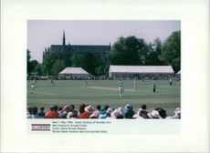 Cricket (1982). new zealand at arundel castle