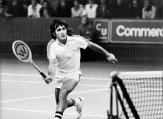 Tennis player Ilie Nastase