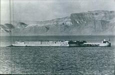 A hall in the middle of the sea during Russian Civil War.