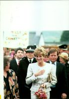 The Princess of Wales in Camelford.