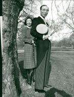 Run Run Shaw with daughter Dorothy in Hyde Park