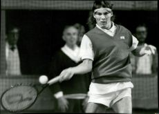 Tennis player Kim Andersson