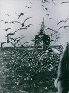 A Ship, in Germany, 1942.
