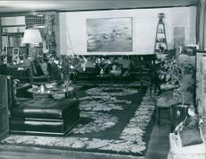 A view of the inside of Alexander, 1st Earl Alexander of Tunis' home.