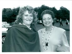 Hon. Laura Sandys and her mother Lady Duncan-Sandys