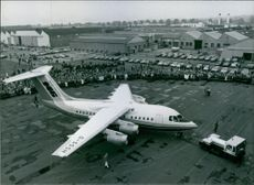 British Aircraft: British Aerospace 146 1981