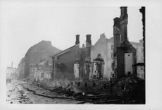 Building of Finland after the battle occurred in it.