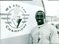 Linford Christie.