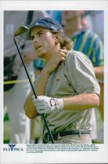 Golf player Gabriel Hjertstedt during the CVS Charity Classic PGA Tournament 1997