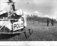 Helicopter was deployed against the missing Alvar Larsson
