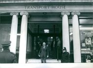Leonard James Callaghan photographed at Transport House. 1979.