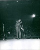 Chubby Checker in his show.